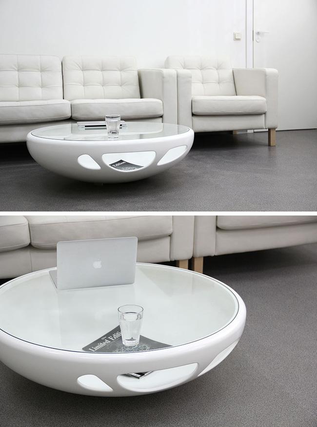 mẫu bàn trà phòng khách bằng kính