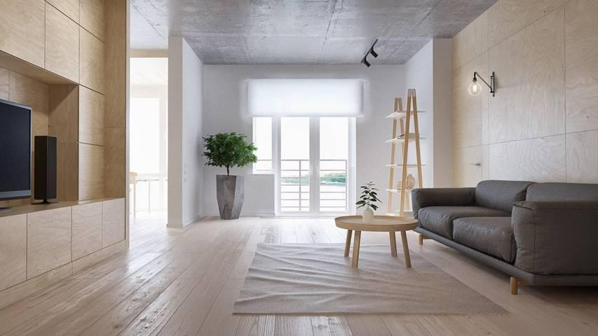 Phòng khách nhỏ nên thiết kế theo hướng tối giản