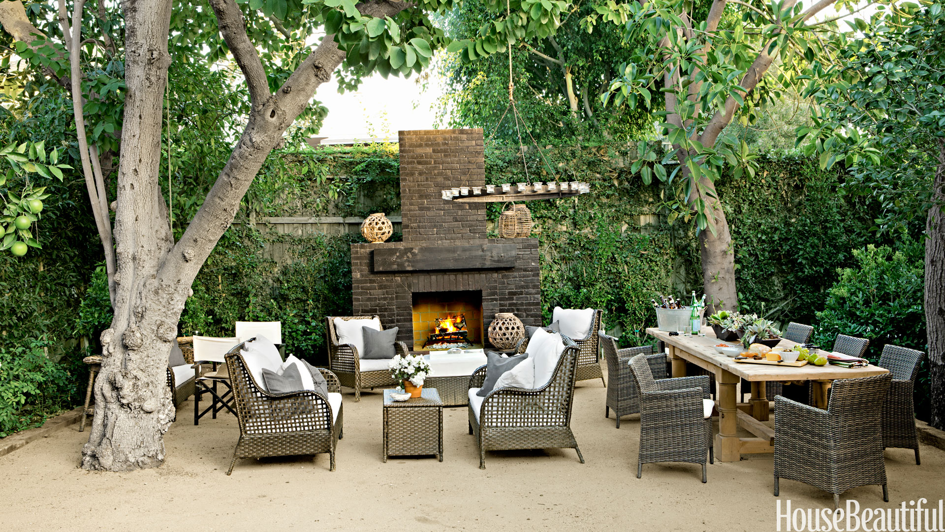 Outdoor Rooms For Small Yards