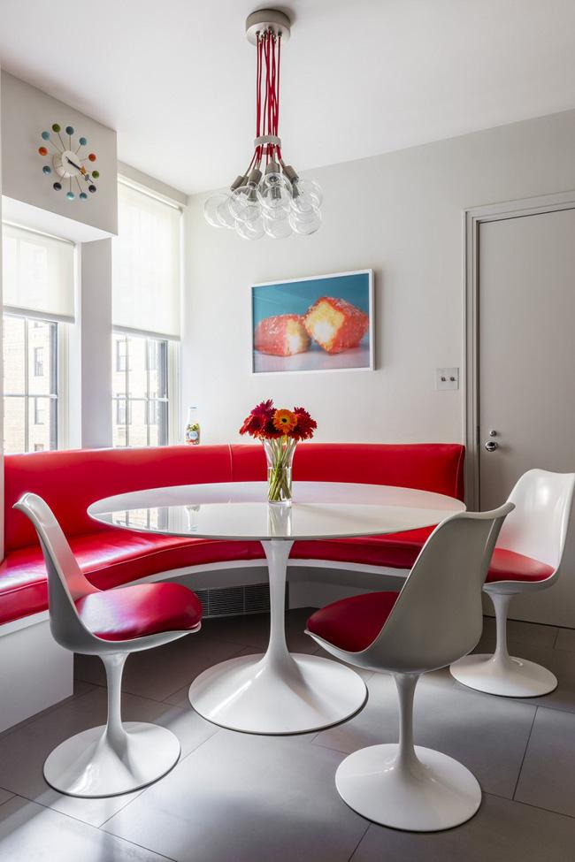 mẫu bàn tròn đẹp cho không gian phòng ăn lớn