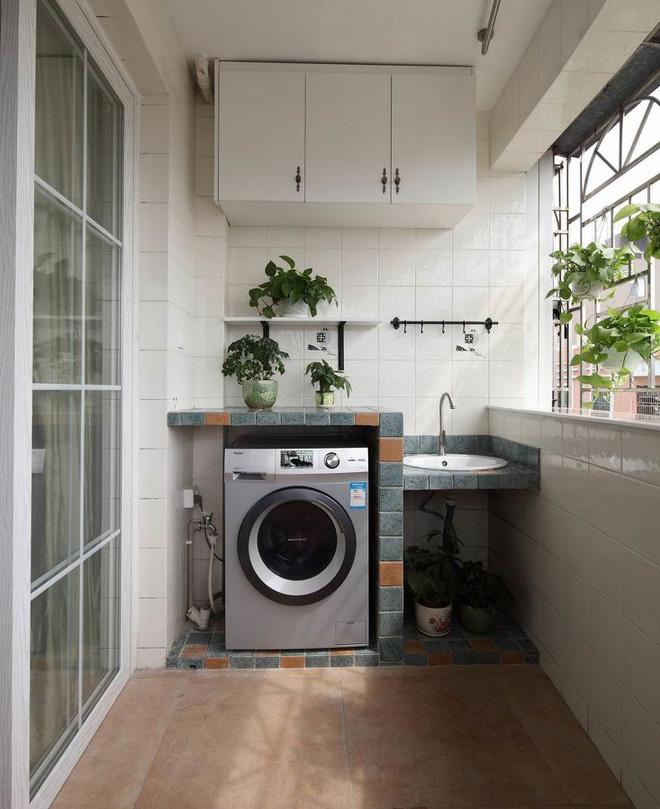 Ban công – vị trí lý tưởng để bố trí máy giặt cho nhà chật 2
