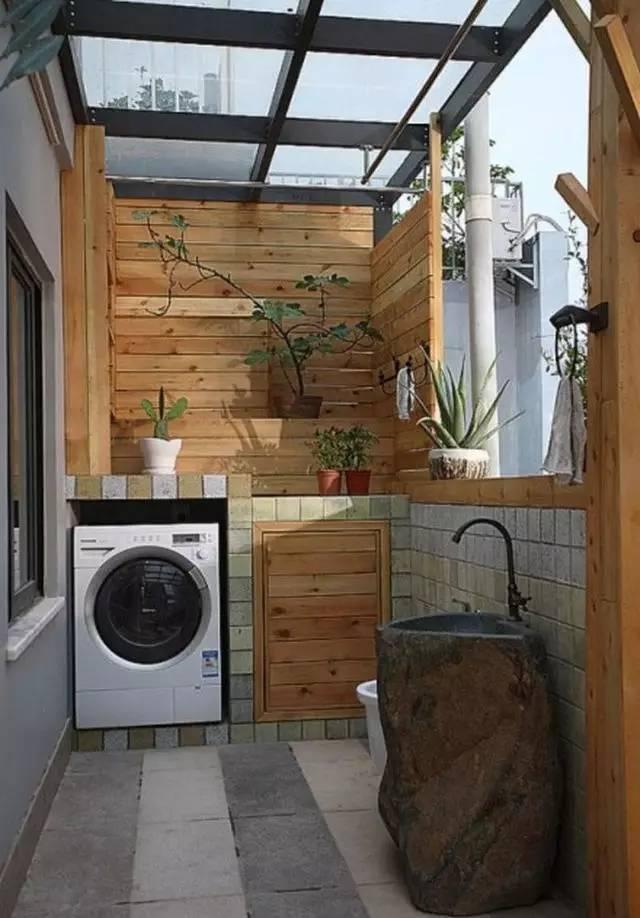 Ban công – vị trí lý tưởng để bố trí máy giặt cho nhà chật 3