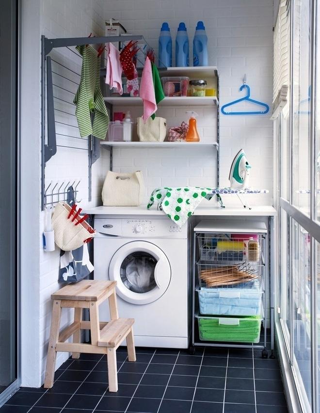 Ban công – vị trí lý tưởng để bố trí máy giặt cho nhà chật 6