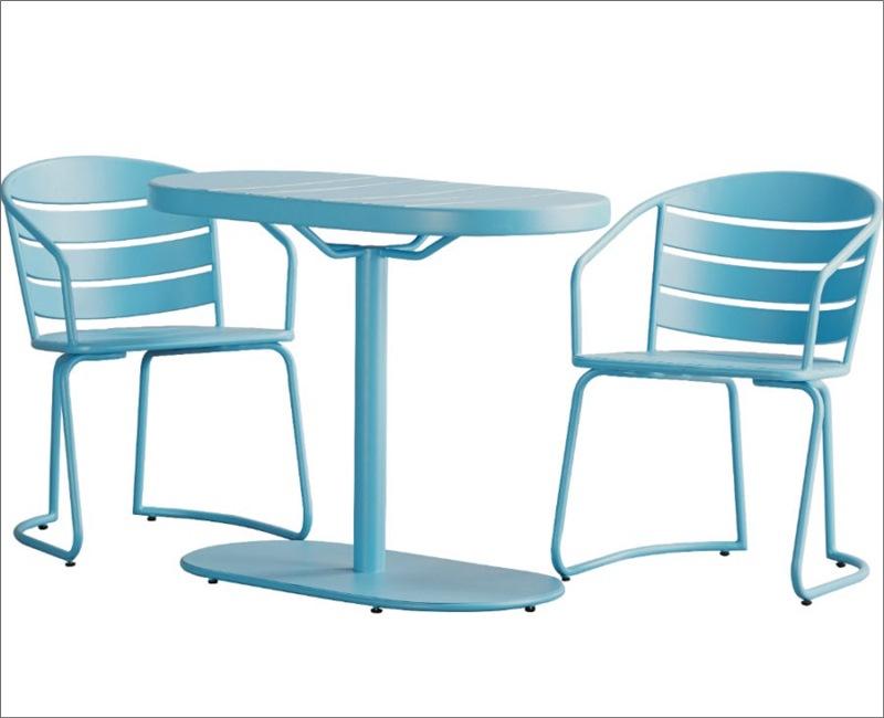 Ban công nhỏ cũng chẳng lo khi đã có những mẫu bàn ghế 15