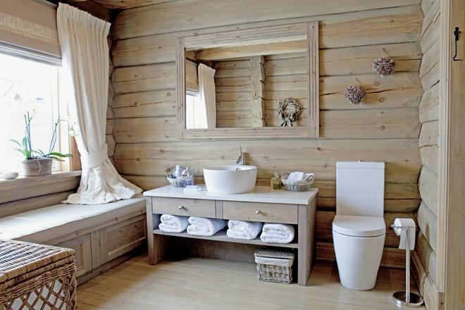 Những mẫu phòng tắm gỗ khiến bạn xao xuyến ngay khi đặt chân vào1