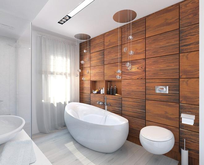 Những mẫu phòng tắm gỗ khiến bạn xao xuyến ngay khi đặt chân vào14