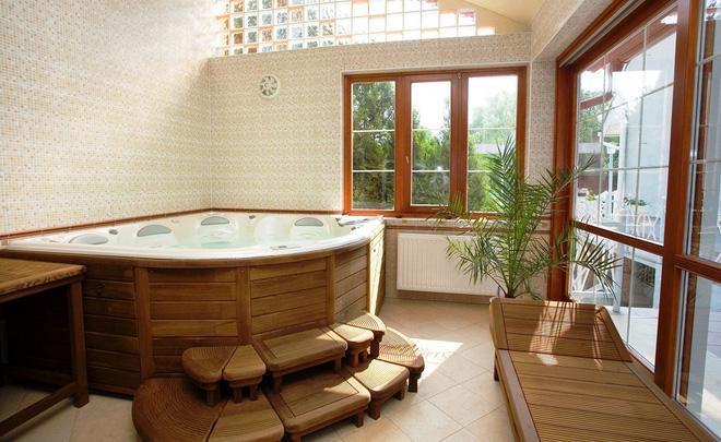 Những mẫu phòng tắm gỗ khiến bạn xao xuyến ngay khi đặt chân vào2
