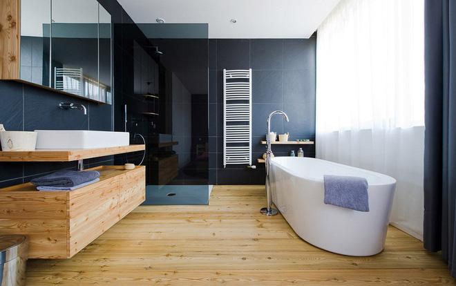 Những mẫu phòng tắm gỗ khiến bạn xao xuyến ngay khi đặt chân vào5