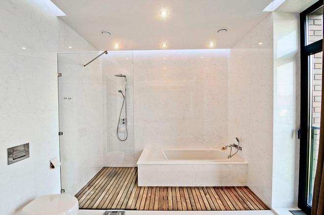 Những mẫu phòng tắm gỗ khiến bạn xao xuyến ngay khi đặt chân vào6