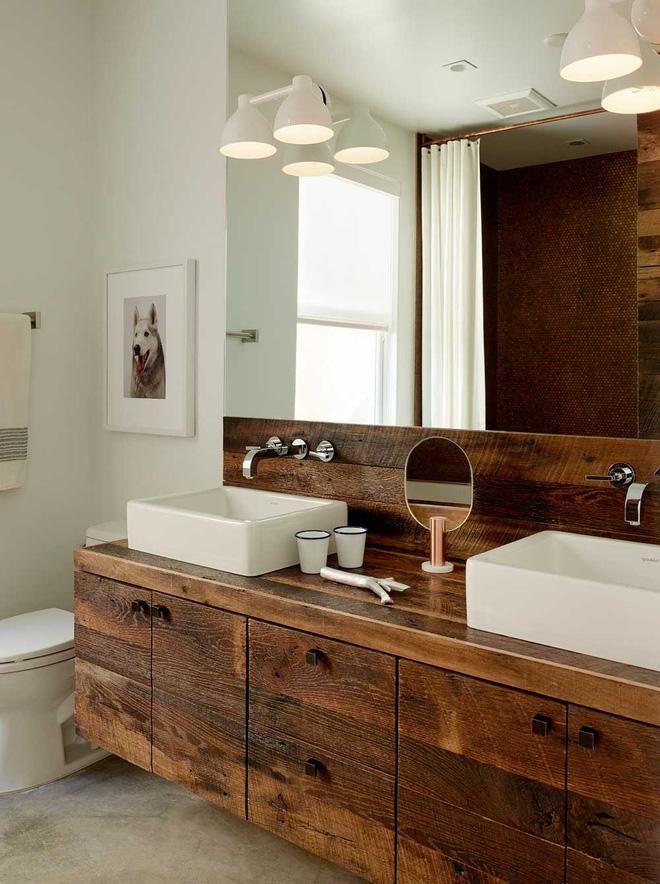 Những mẫu phòng tắm gỗ khiến bạn xao xuyến ngay khi đặt chân vào7