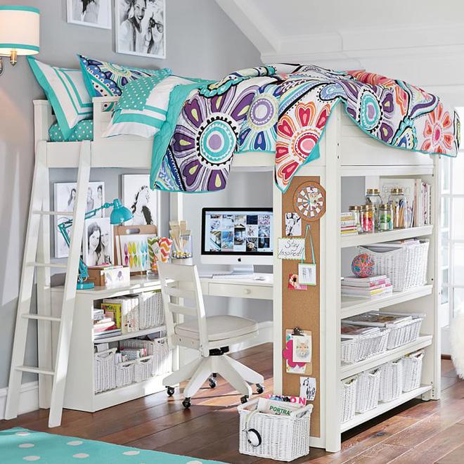 Phòng ngủ trẻ em cực ấn tượng với 7 mẫu giường ngủ 2