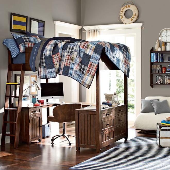 Phòng ngủ trẻ em cực ấn tượng với 7 mẫu giường ngủ 3