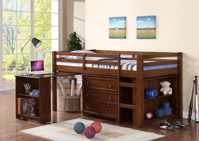Phòng ngủ trẻ em cực ấn tượng với 7 mẫu giường ngủ 5