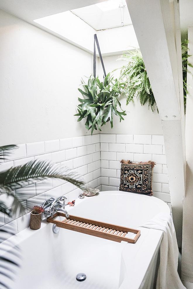Phòng tắm đẹp hơn bao giờ hết với ý tưởng mang thảm thực vật 3