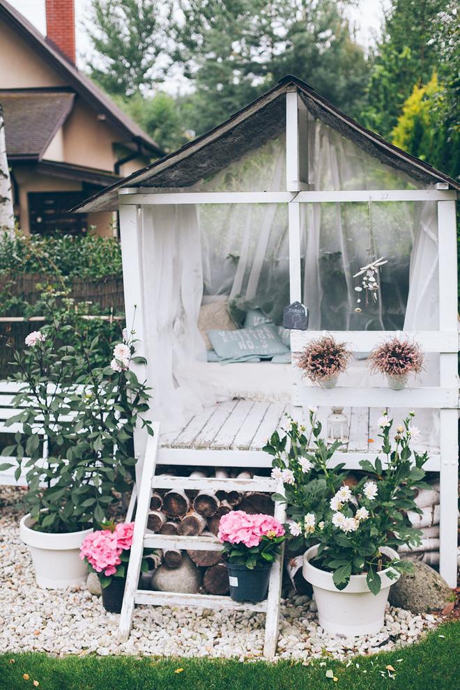 Sân vườn đẹp như mơ với 4 ý tưởng trang trí 3