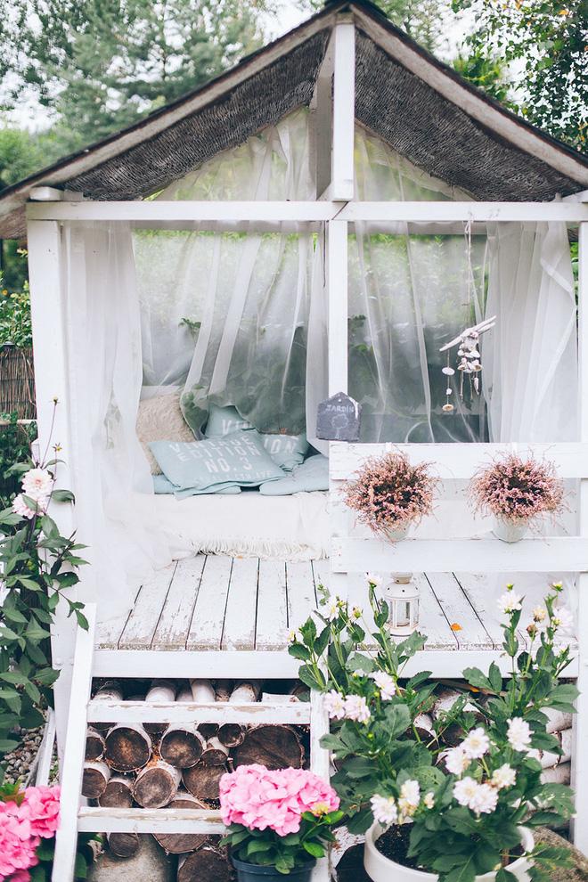 Sân vườn đẹp như mơ với 4 ý tưởng trang trí 5