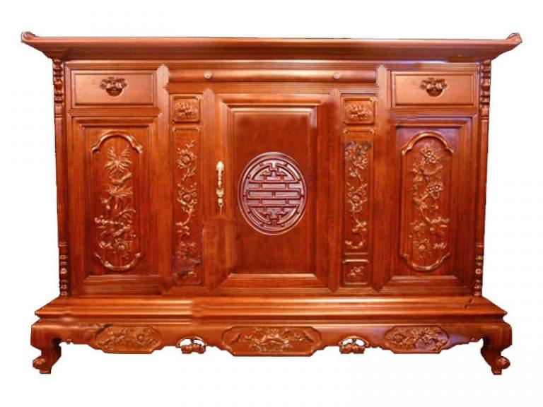 church cabinet size