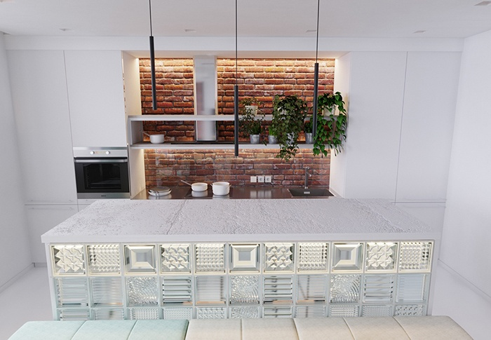 40m2 apartment extremely lovely for the couple - kitchen 2