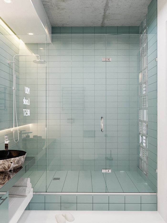 Apartment model 40m2 for couples - bathroom