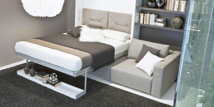 Giường ngủ âm tường cho không gian nhà chật