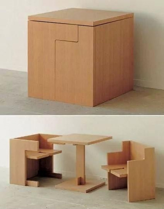 nội thất thông minh cho không gian nhà
