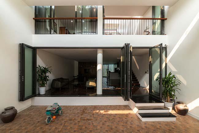 Mẫu nhà phố đẹp 4 tầng với thiết kế ruộng bậc thang ở Hà Tĩnh (3)