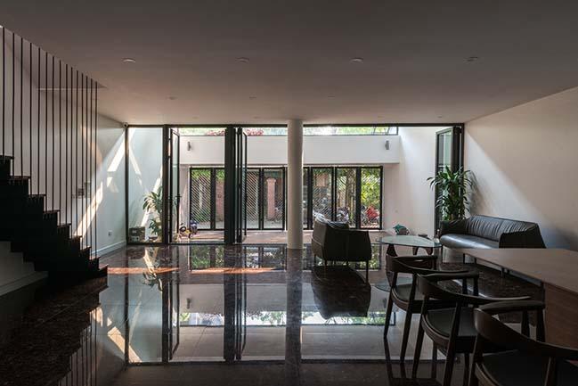 Mẫu nhà phố đẹp 4 tầng với thiết kế ruộng bậc thang ở Hà Tĩnh (4)