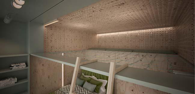 căn hộ penthouse 2 tầng (13)