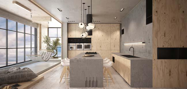 căn hộ penthouse 2 tầng (2)