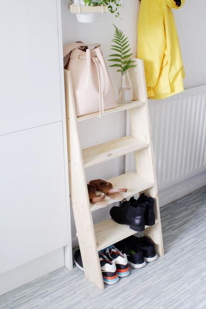 không gian phòng ngủ chật