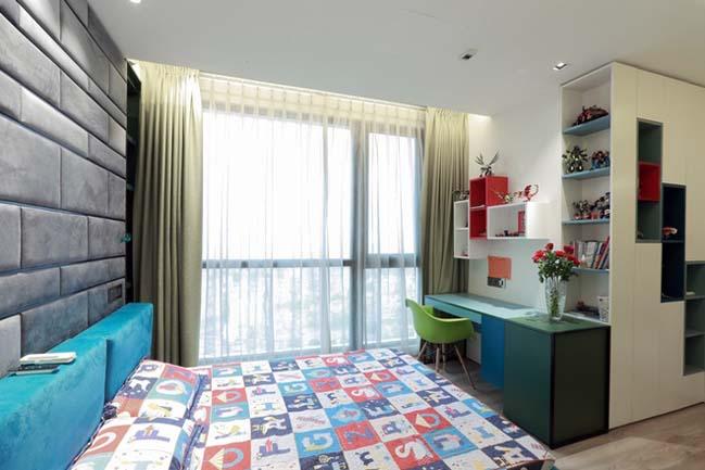 Nội thất căn hộ chung cư 256 m2 tại Hà Nội (9)