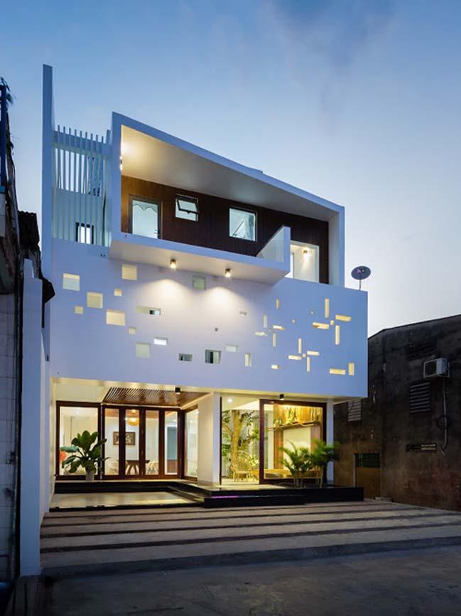 Thiết kế biệt thự 3 tầng theo phong cách Tây phương ở Đồng Nai (1)