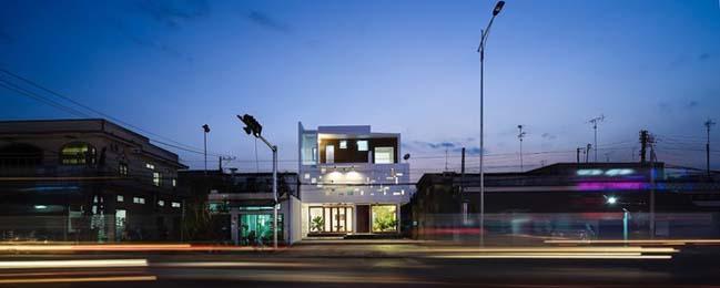 Thiết kế biệt thự 3 tầng theo phong cách Tây phương ở Đồng Nai (2)
