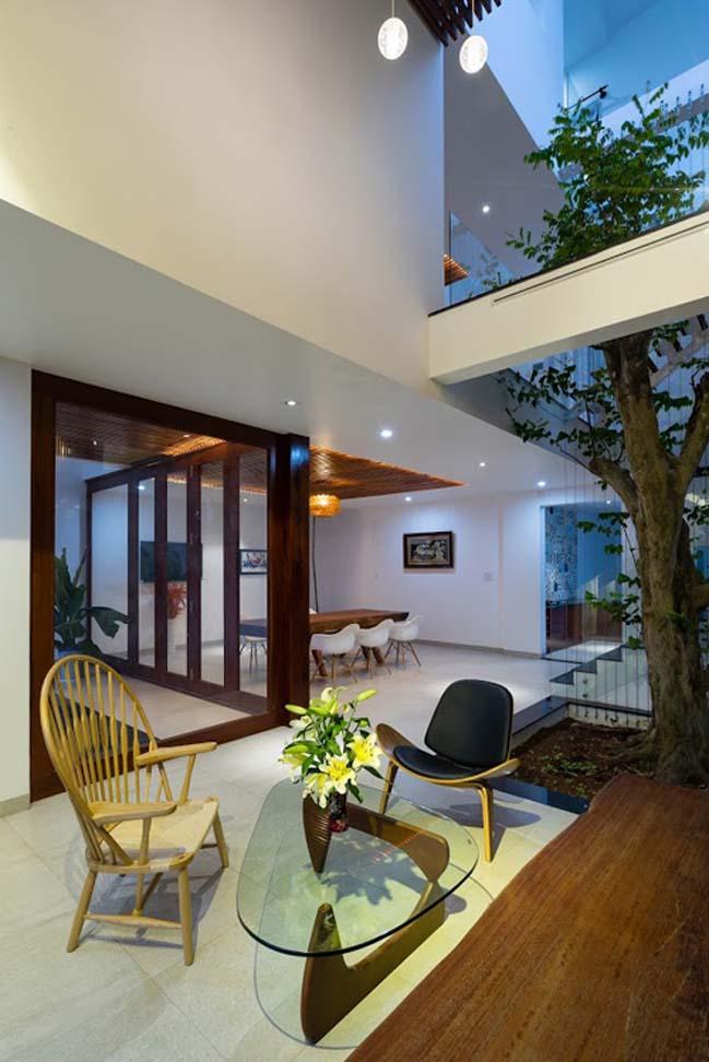 Thiết kế biệt thự 3 tầng theo phong cách Tây phương ở Đồng Nai (8)