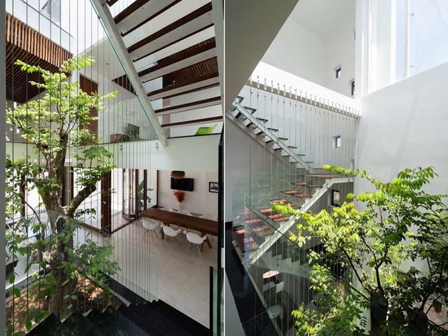 Three-storey Western-style villa design in Dong Nai (9)