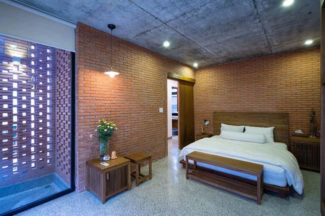Thiết kế nhà phố 4 tầng với mặt tiền gạch đỏ ở Sài Gòn (10)