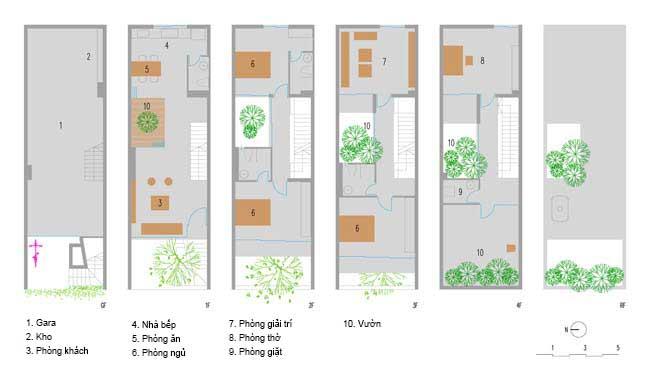Thiết kế nhà phố 5 tầng ở Bắc Ninh (16)