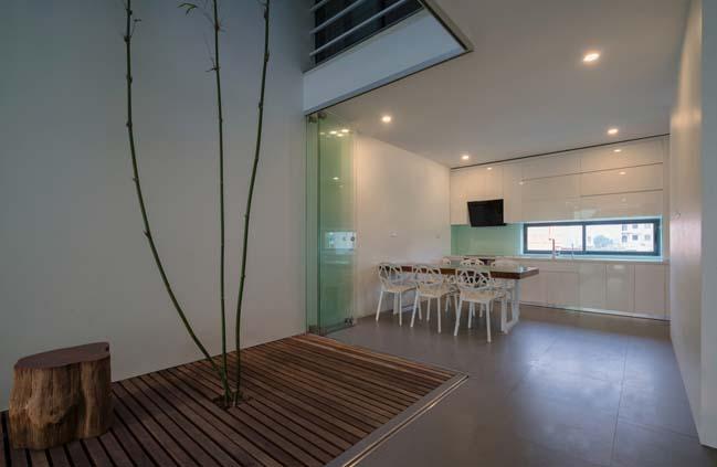 Thiết kế nhà phố 5 tầng ở Bắc Ninh (4)