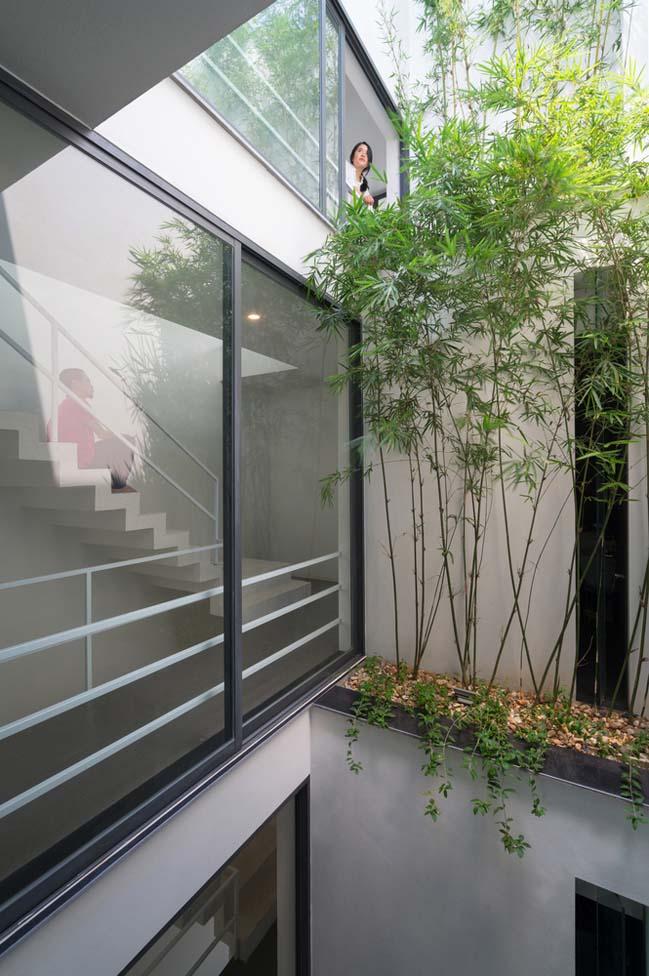 Thiết kế nhà phố 5 tầng ở Bắc Ninh (7)