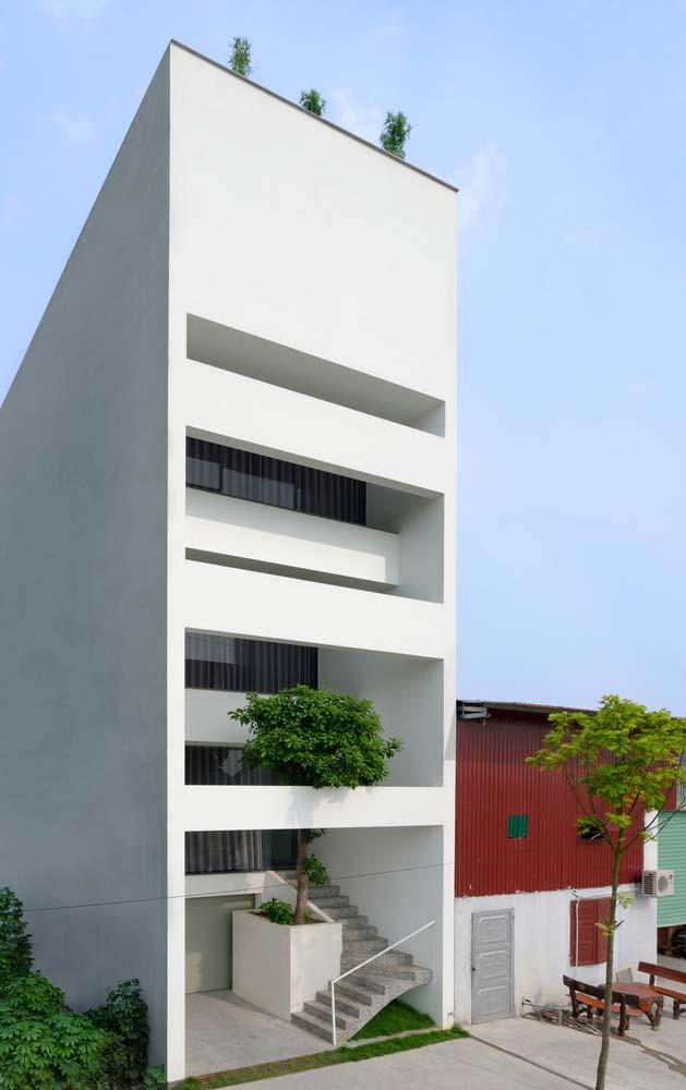 Thiết kế nhà phố 5 tầng ở Bắc Ninh (8)