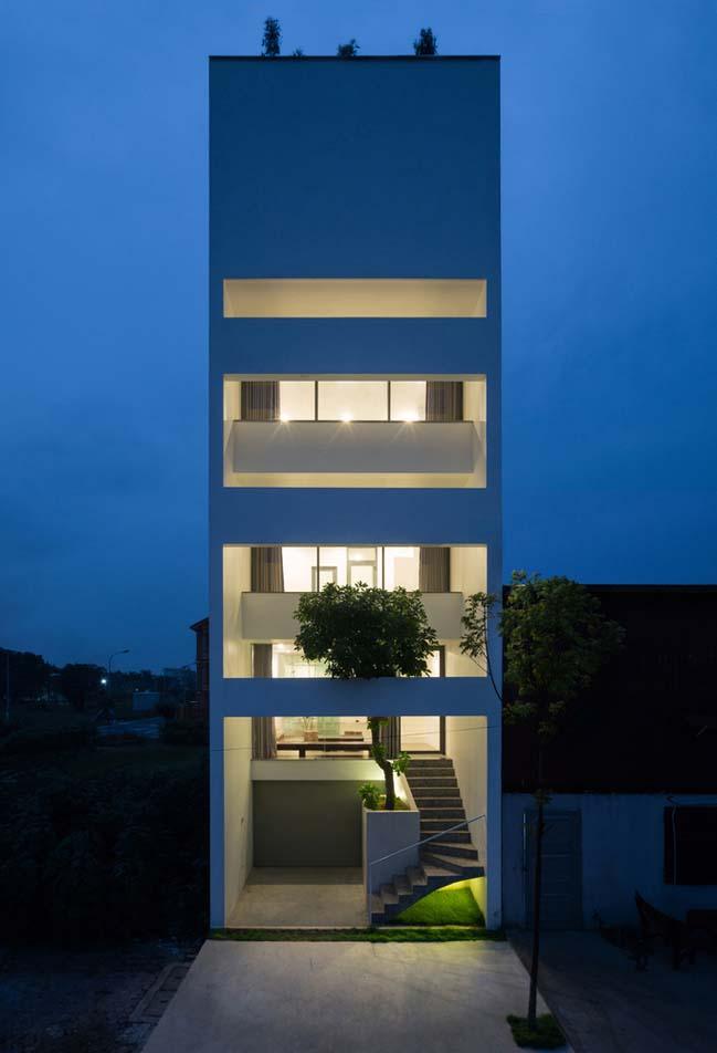 Thiết kế nhà phố 5 tầng ở Bắc Ninh (9)