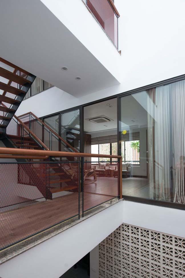 Thiết kế nhà phố đẹp 3 tầng ở Hà Nội (10)