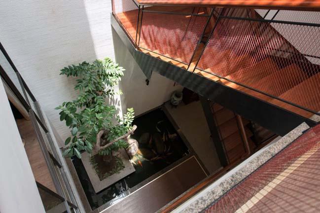 Thiết kế nhà phố đẹp 3 tầng ở Hà Nội (4)
