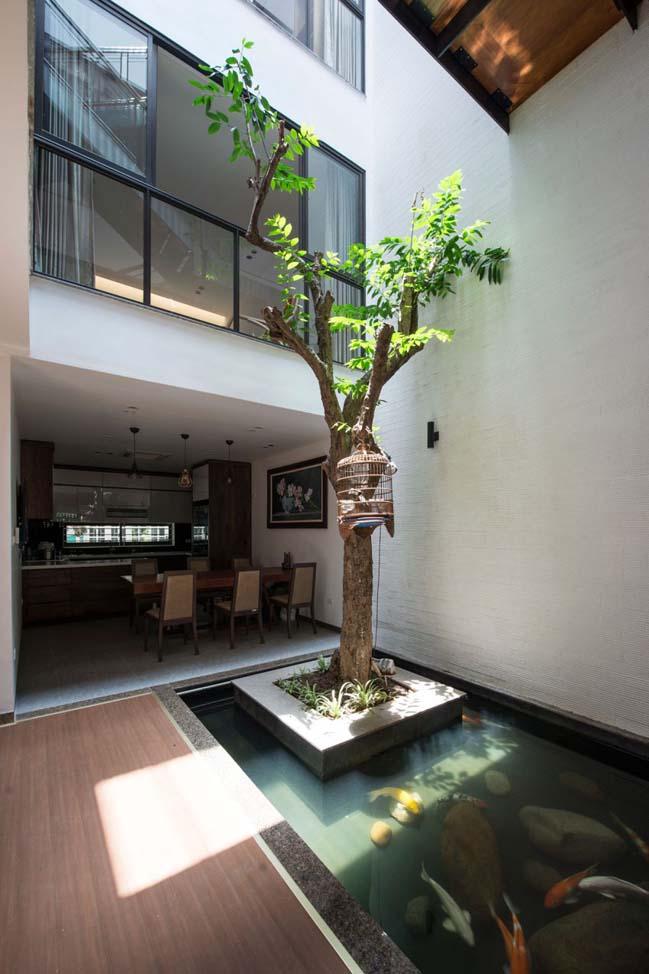 Thiết kế nhà phố đẹp 3 tầng ở Hà Nội (6)