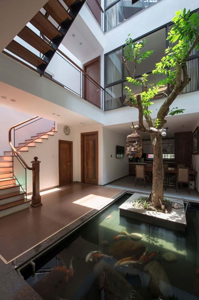 Thiết kế nhà phố đẹp 3 tầng ở Hà Nội (7)