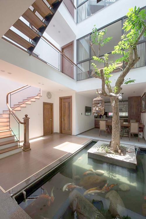 Thiết kế nhà phố đẹp 3 tầng ở Hà Nội Nhadepso