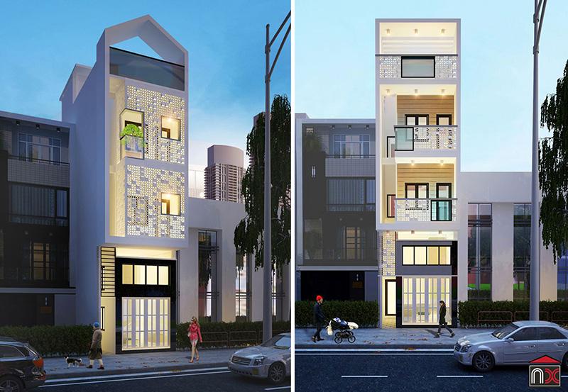 thiết kế nhà phố_design kiennhaxinh