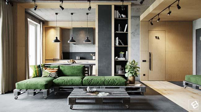Thiết kế nội thất căn hộ- Nhà Đẹp Số