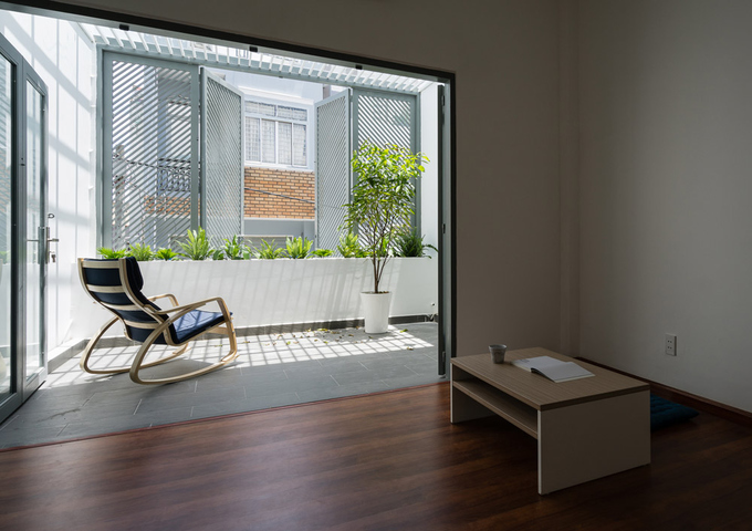 Nhà phố đẹp 40 m2 ở quận Tân Phú Sài Gòn sau cải tạo (10)