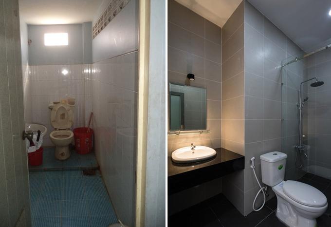 Nhà phố đẹp 40 m2 ở quận Tân Phú Sài Gòn sau cải tạo (13)
